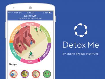 Detox Me app: Tips for healthier living | Silent Spring Institute
